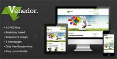See More Venedor - Bootstrap Responsive eCommerce PSDonline after you search a lot for where to buy