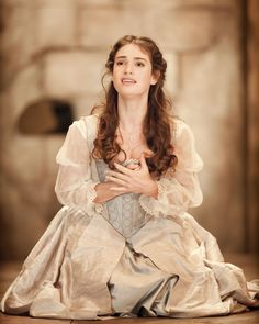 Lily James as Desdemona