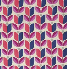 Fabric... Flora Tulip in Orchid by Joel Dewberry for FreeSpirit Fabrics