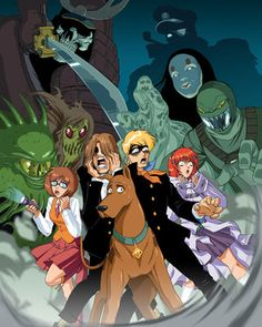 Scooby Doo & the gang