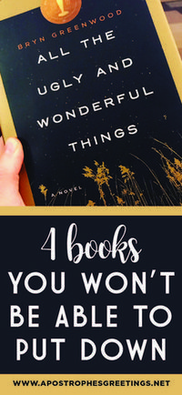 4 Chilling Books You Won't be Able to Put Down! — Apostrophe S Greetings - - 4 Chilling Books You Won't be Able to Put Down! — Apostrophe S Greetings. Best Books To Read, I Love Books, My Books, Read Books, Feel Good Books, Amazing Books, Books And Tea, Book Club Books, Book Clubs