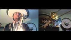 Khrizz ft. Fer - City Of Delusion (Tenor Sax & Trombone Cover)
