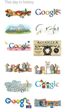Happy birthday google the 30 most epic google doodles of all time doodles ccuart Gallery