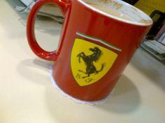 Günün ilk kahvesi #ferrari ile