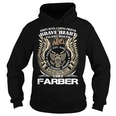 [New tshirt name meaning] FARBER Last Name Surname TShirt v1 Discount Codes Hoodies, Funny Tee Shirts