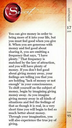 Something i believe in. But not to gain more only to gain more generosity.