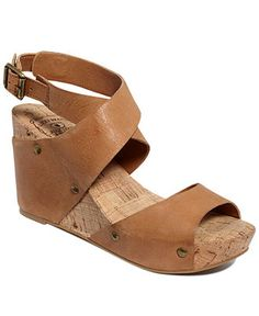 Lucky Brand Shoes, Moran Wedge Sandals I absolutely love these shoes. They're comfy and go with just about everything. Leather Wedge Sandals, Wedge Shoes, Crazy Shoes, Me Too Shoes, Cute Sandals, Shoes Sandals, Lucky Brand Shoes, Clothes Horse, Buy Shoes