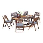 Found it at Wayfair - 14 Piece Dining Set with Cushions