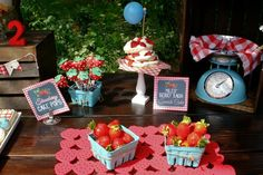 Strawberry Party #strawberry #party