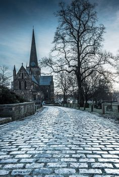 https://flic.kr/p/DCrCx9 | Pathway To St. Cuthbert's (Cold Tone). | Taken at…