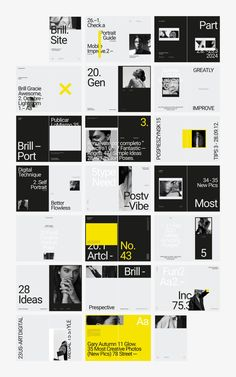BRILL Photography Portfolio by flowless on Design Portfolio Layout, Magazine Layout Design, Magazine Layouts, Graphic Design Posters, Graphic Design Inspiration, Typography Design, Brochure Layout, Brochure Design, Corporate Brochure