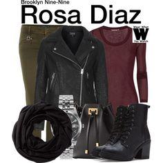 Inspired by Stephanie Beatriz as Rosa Diaz on Brooklyn Nine-Nine.