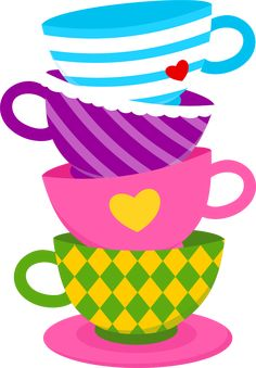 Free for personal use Alice In Wonderland Tea Party Clipart of your choice Alice In Wonderland Clipart, Alice In Wonderland Tea Party Birthday, Beyond Wonderland, Adventures In Wonderland, Mad Hatter Party, Mad Hatter Tea, Disney Love, Art Lessons, Illustration