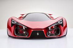Оригинальный концепт Ferrari от начинающего дизайнера ADRIANO RAELI