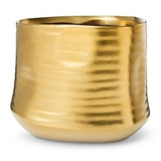 Threshold™ Shiny Gold Vase - Medium
