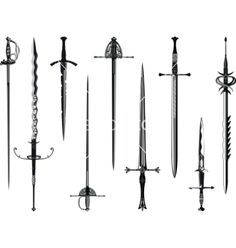 Find medieval sword stock images in HD and millions of other royalty-free stock photos, illustrations and vectors in the Shutterstock collection. Thousands of new, high-quality pictures added every day. Body Art Tattoos, New Tattoos, Sleeve Tattoos, Cool Tattoos, Tatoos, Biker Tattoos, Sword Tattoos For Women, Sword Design, Dagger Tattoo