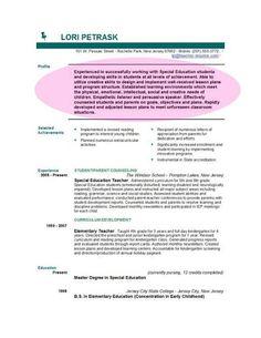 resume template google