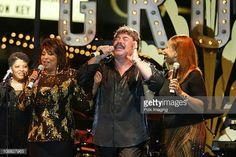 Dawn Tony Orlando and Telma Hopkins during Tony Orlando and Dawn Perform at the 3rd Annual Super Concert Series at the Grove Show at The Grove in Los...