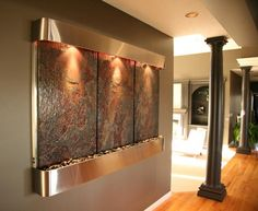 slate wall fountains0 Bring Nature Indoors with Slate Wall Fountains