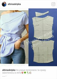 Amazing Sewing Patterns Clone Your Clothes Ideas. Enchanting Sewing Patterns Clone Your Clothes Ideas. Fashion Sewing, Diy Fashion, Ideias Fashion, Fashion Outfits, Dress Sewing Patterns, Clothing Patterns, Sewing Blouses, Make Your Own Clothes, Diy Clothing