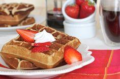 Grain Free Waffles  #BrittanyAngell
