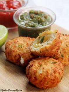 Cheese kachori,that aiso a crispy recipe!                                                                                                                                                                                 More