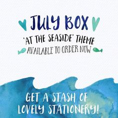 Come and have a look on my website for a sneak peek of what is in this month's #SherbetBox ...excited about how fab this one is!!! #beach #seaside #stationery #stationerystash #planneraddict #planner #subscriptionboxes #subscriptionboxaddict #illustration #ukbiz #womeninbiz #snailmail #paperhug #paperlove