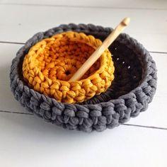http://www.tangerinette.com/ crochet corbeille corbeil