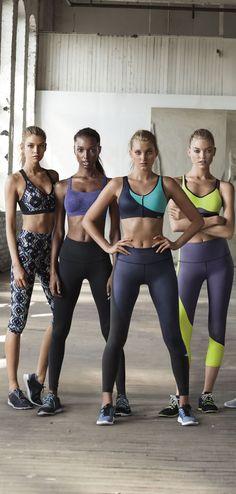 Stella Maxwell, Jasmine Tookes, Elsa Hosk, Martha Hunt and Romee Strijd for Victoria's Secret Sport fall 2015 campaign Sport Chic, Vs Sport, Sport Body, Sport Man, Sport Girl, Elsa Hosk, Yoga Fashion, Sport Fashion, Fashion Models