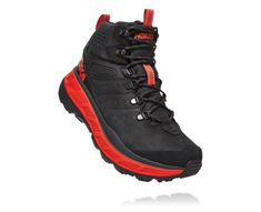 HOKA ONE ONE adds a waterproof GORE-TEX membrane to three of its outdoor-ready silhouettes. Nike Air Shoes, Men's Shoes, Shoe Boots, Kicks Shoes, Shoes Sneakers, Rocker, Men Hiking, Walking Boots, Best Running Shoes