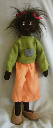 Todos os tamanhos | Black Jointed Cloth Golly Doll | Flickr – Compartilhamento de fotos!