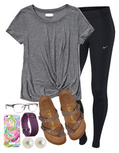 #summer #outfits / Grey Tee + Sandals