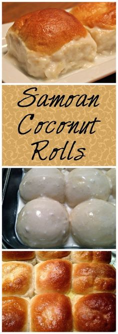 Nutritious Snack Tips For Equally Young Ones And Adults Samoan Coconut Rolls Pani Popo These Sweet Coconut Rolls Are Absolutely Delicious Pani Popo, Samoan Food, Tongan Food, Polynesian Food, Tapas, Island Food, Glass Baking Dish, Bread And Pastries, Love Food