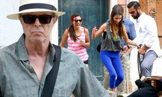 David Bowie makes a rare public appearance with daughter Lexi as they enjoy a boat ride while holidaying in Venice http://www.dailymail.co.uk/tvshowbiz/article-2348026/David-Bowie-makes-rare-appearance-daughter-Lexi-enjoy-boat-ride-holiday-Venice.html