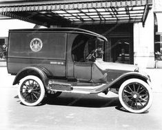 Dodge Delivery Truck Hudson Bay Co 1920 Vintage 8x10 Reprint Of Old Photo 2