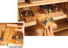 6 Storage Solutions You Can Build Into Any Cabinet - Popular Woodworking Magazine