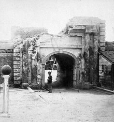 (1865) Fort Moultrie just outside Charleston, SC