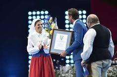 Swedish Royals attended a concert for Victoriadagen