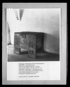 Truhe | niedersächsisch | Bildindex der Kunst & Architektur - Bildindex der Kunst & Architektur -