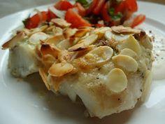 LCHF-bloggen: Mandeltorsk med parmesan og pesto