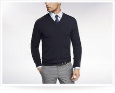 $70.00 Size Small - Nordstroms Cashmere VNeck Sweater - burgundy in color or navy