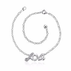 Get The Latest Fashion Jewelry  KDA001 Fashion Jewelry Plated Silver Anklet Factory Price Sterling Silver Anklets Crystal Love Heart Pendant     Buy Jewelry At Wholesale Prices!     FREE Shipping Worldwide     Buy one here---> http://jewelry-steals.com/products/kda001-fashion-jewelry-plated-silver-anklet-factory-price-sterling-silver-anklets-crystal-love-heart-pendant/    #bracelets