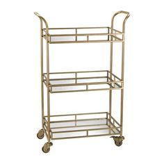 Three Story Bar Cart by Mintwood Home