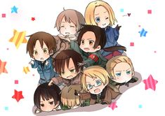 The characters representing the countries commonly use the character models of the Hetalia cast, but fan made characters are also used. Description from knowyourmeme.com. I searched for this on bing.com/images