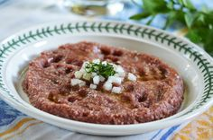 Kibbeh Nayeh, all-time favorite.
