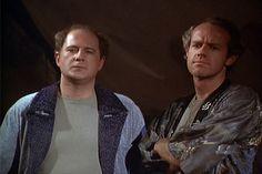 M*A*S*H: Season 6, Episode 21 Temporary Duty (13 Feb. 1978) mash, 4077, Mike Farrell , Captain B.J. Hunnicut, David Ogden Stiers , Major Charles Winchester ,