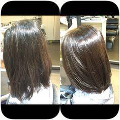 Smooth volume rebonding hair   Volume rebonding   Hair, Long hair styles, Hair styles
