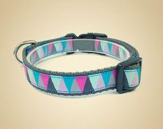 Obroża dla psa Triangle pastels - OssoDiCane - Obroże dla psów