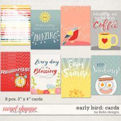 Early Bird: Cards by lliella designs