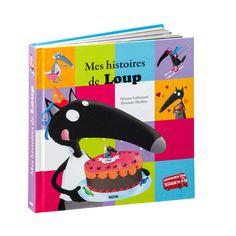 Livre Mes histoires de Loup pour enfant de 3 ans à 6 ans - Oxybul éveil et jeux